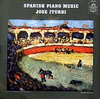 Jose Iturbi plays piano music of Albinez and Granados - Angel LP 35628 (1960 - cover picture by Picasso)