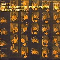 Glenn Gould's first Columbia LP of the Bach Goldberg Variations