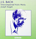 Joseph Szigeti plays two Bach Sonatas and one Partita live at Carnegie Hall, 1946 - Music and Arts CD 774