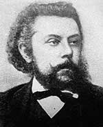 Portrait of Modeste Mussorgsky
