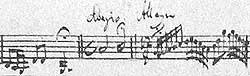 The Adagio of the Third Concerto