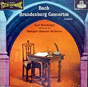 Karl Munchingerconducts the Stuttgart Chamber Orchestra (London LP box set cover)