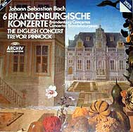 Trevor Pinnock conducts the English Concert (Archiv CD cover)