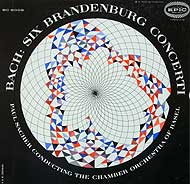 Paul Sacher conducts the Chamber Orchestra of Basel (Epic LP cover)