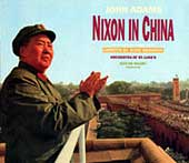 John Adams - Nixon in China (NonesuchCD cover)