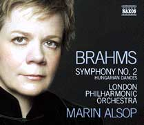 Marin Alsop and the London Symphony play Brahms (Naxos CD)
