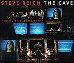 Cover of the Nonesuch CD of Steve Reich and Beryl Korot's The Cave
