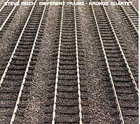 Cover of the Nonesuch CD of Steve Reich's Different Trains