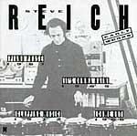 Cover of the Nonesuch CD - Steve Reich's Early Work