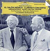 Leonard bernstein a total embrace of music classical for Aaron copland el salon mexico
