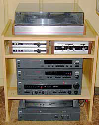 My basement stereo system
